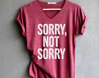 Sorry Not Sorry Fashion Hipster Cute Tumblr Kids and Teens Sweatshirt