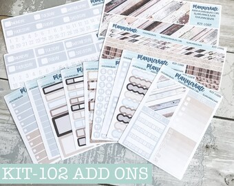 KIT-102 Add-Ons || HOME - Kit Stickers for Planner