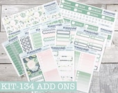 KIT-134 Add-Ons SPRING SUCCULENTS - Kit Stickers for Planner