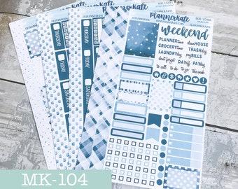 MK-104 || JANUARY TEAL Mini Kit