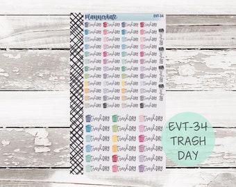 EVT-34 || TRASH DAY Event Sticker