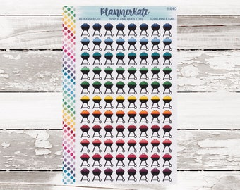 Sale! S-240    GRILL Planner Stickers