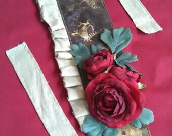 cc637809fa0 Clockwork and Flower Fascinator  steampunk