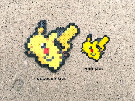 Pichu Pikachu Raichu Alolan Raichu Pokemon Perler Bead Fuse Bead 8bit Nintendo Mini Sprite