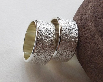 Matching Promise Rings, Personalized Couple Rings, Promise Rings For Couples, Couple Ring Set, His And Hers Promise Ring Sets