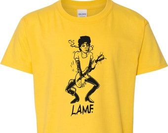 """Johnny Thunders & The Heartbreakers """"L.A.M.F."""" T-Shirt - Punk, NYC, Various Colours"""