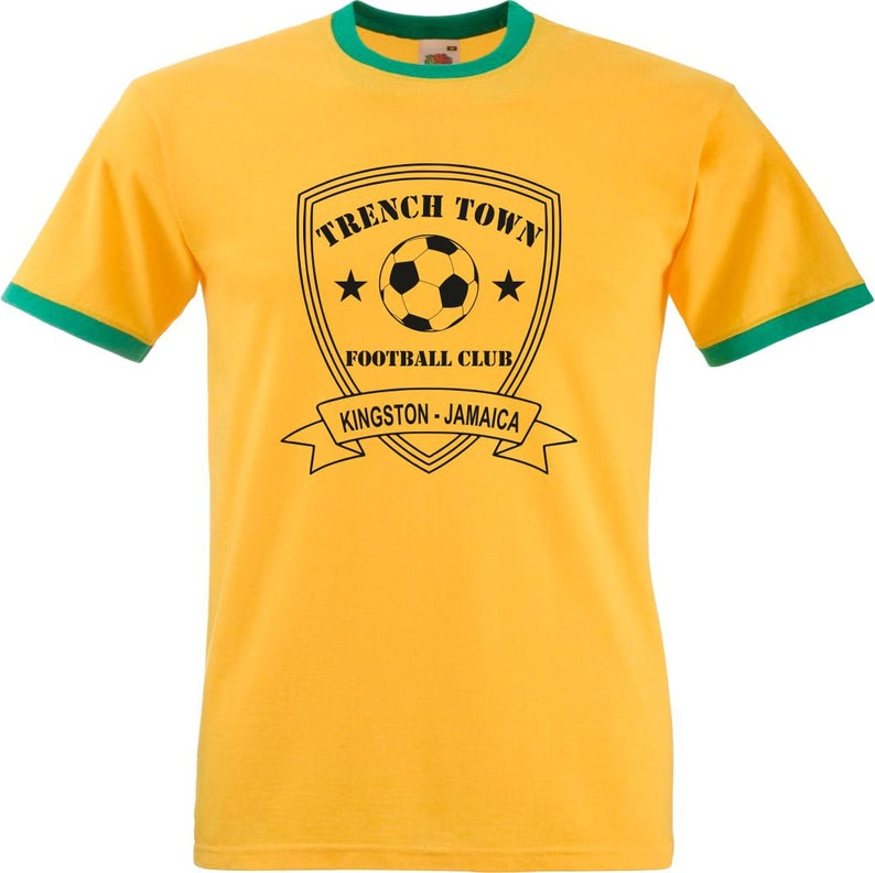 d88b203e Trench Town Football Club T-Shirt Kingston Jamaica | Etsy