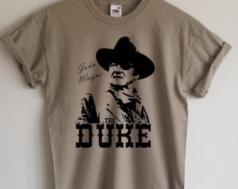 John Wayne 'The Duke' T-shirt, All Sizes/Colours