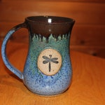 Pottery Dragonfly Mug  ...     Made in Vermont