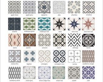 Tile Decal Etsy