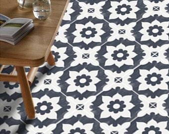 Tile Decals Tiles For KitchenBathroom Back Splash Floor Etsy - Encaustic vinyl flooring