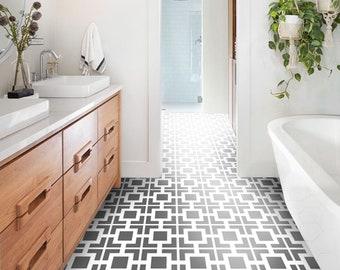 mediterranean decor tuvalu home.htm vinyl floor tile sticker floor decals carreaux ciment etsy  vinyl floor tile sticker floor decals