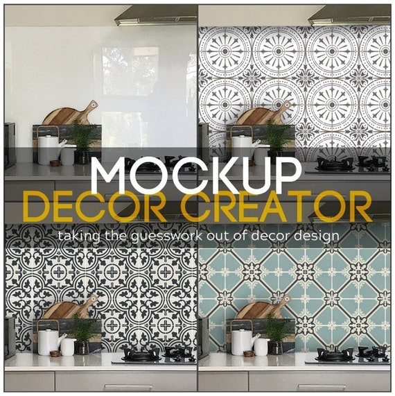 floor and decor grout.htm mockup decor creator up to 3 designs per pack etsy  mockup decor creator up to 3 designs