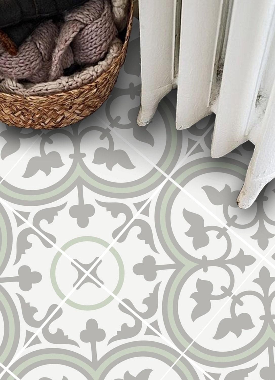 Vinyl Boden Fliesenaufkleber Boden Aufkleber Carreaux | Etsy