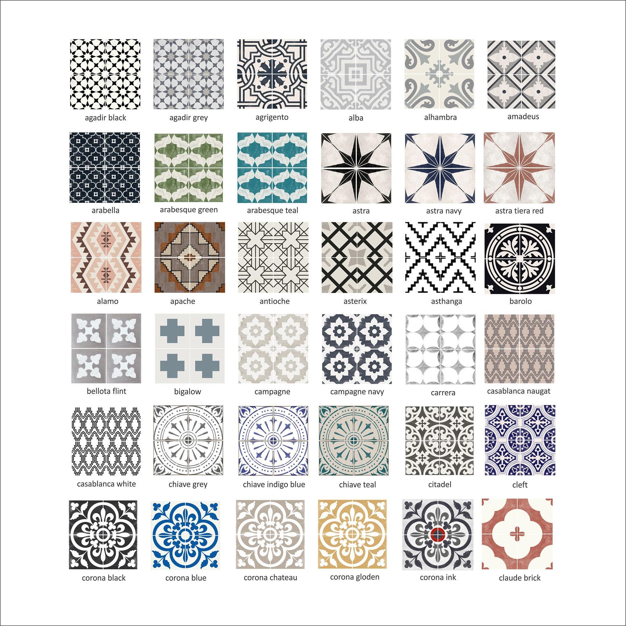 Tile Decals Tiles For Kitchen Bathroom, Tile Decals For Bathroom