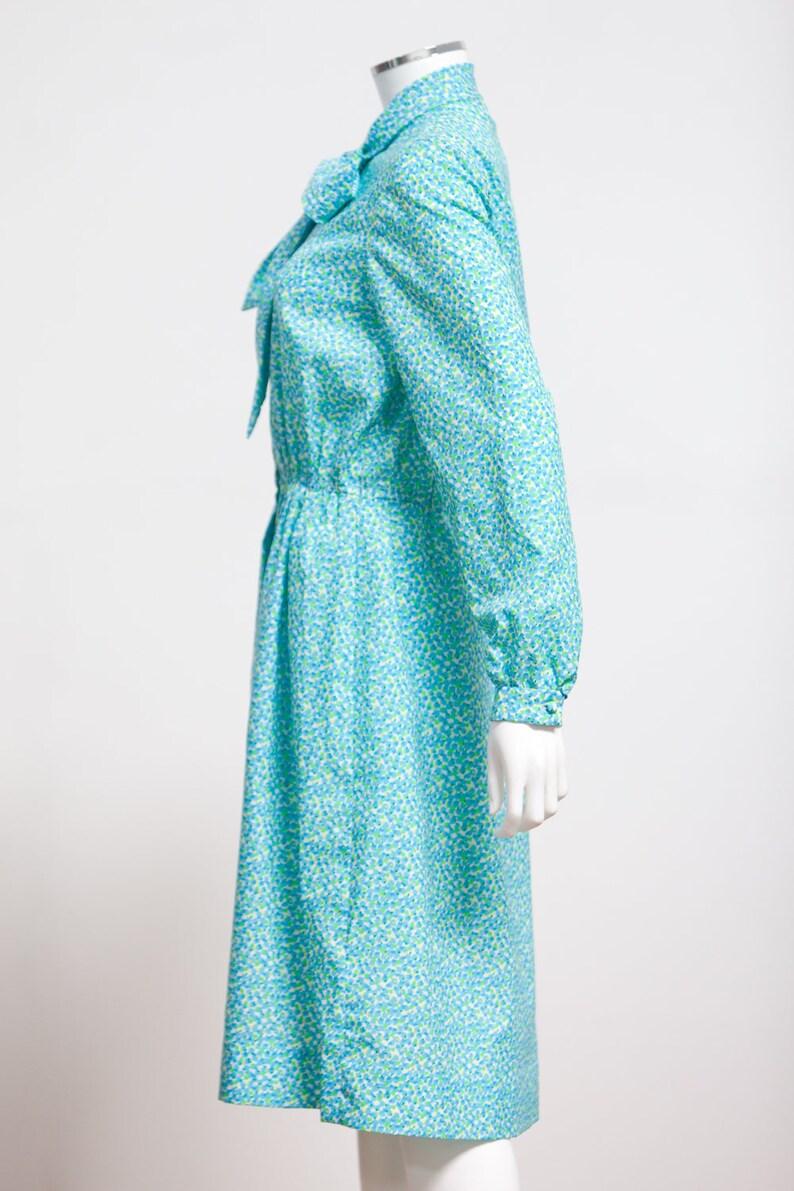 08f98758d3c0 70s Jamison Boutique Ditzy Print Shirtwaist Dress Indie