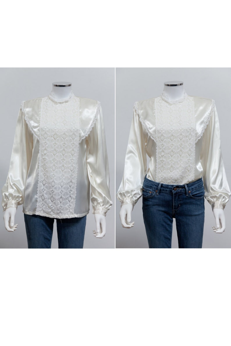 4dc1c0e1b High Collar White Ruffle Shirt | Azərbaycan Dillər Universiteti