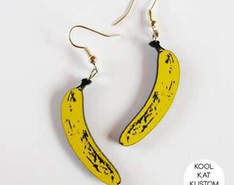 Banana Earrings