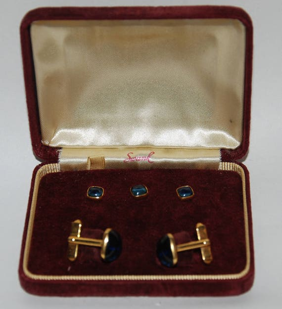 and Cufflinks Set Free USA Shipping! Vest Buttons 1940s-/'50s era Formal Tuxedo Dress Shirt Studs
