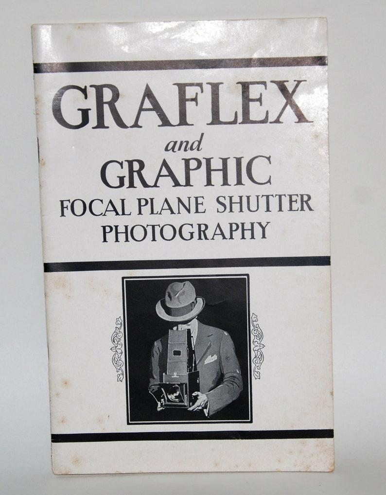 1930s era Graflex Camera and Graphic Focal Plane Shutter image 0