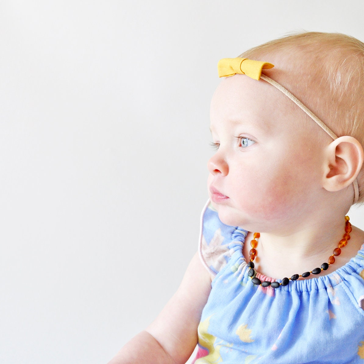 Amber Teething Necklace For Baby Teething Necklace