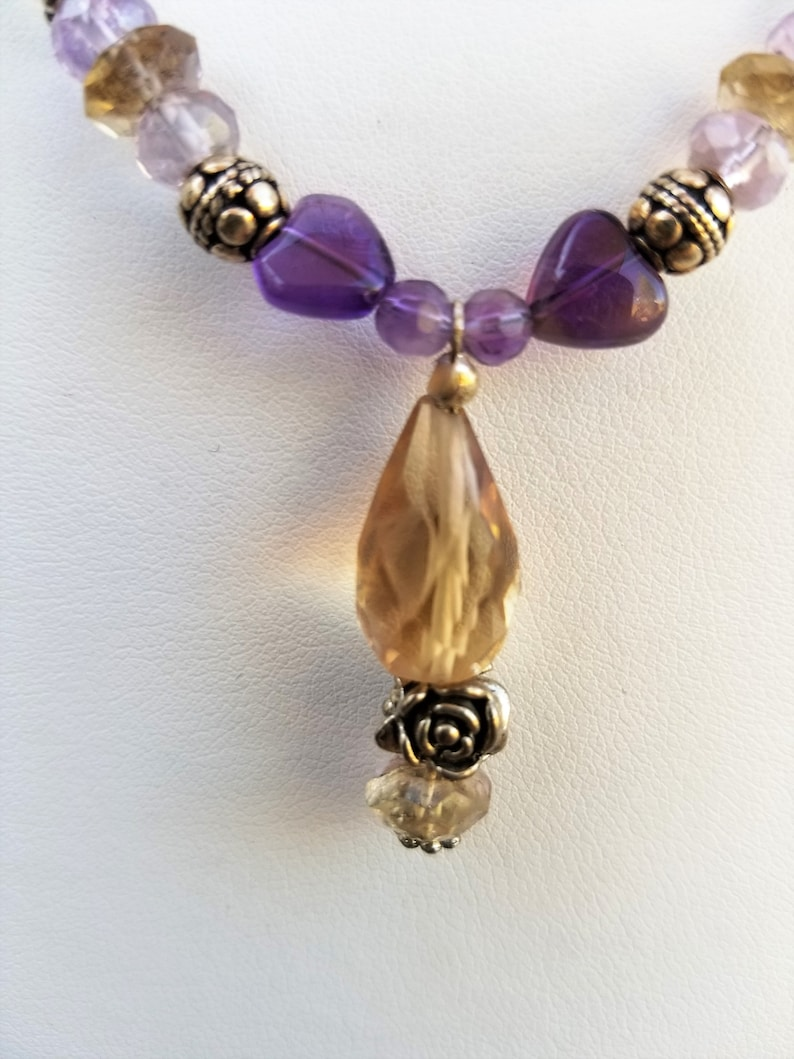 Intentional Gemstone Jewelry Suite for Crown Chakra Activation and Balance Spiritual Consciousness 7th Chakra One With the Goddess Design