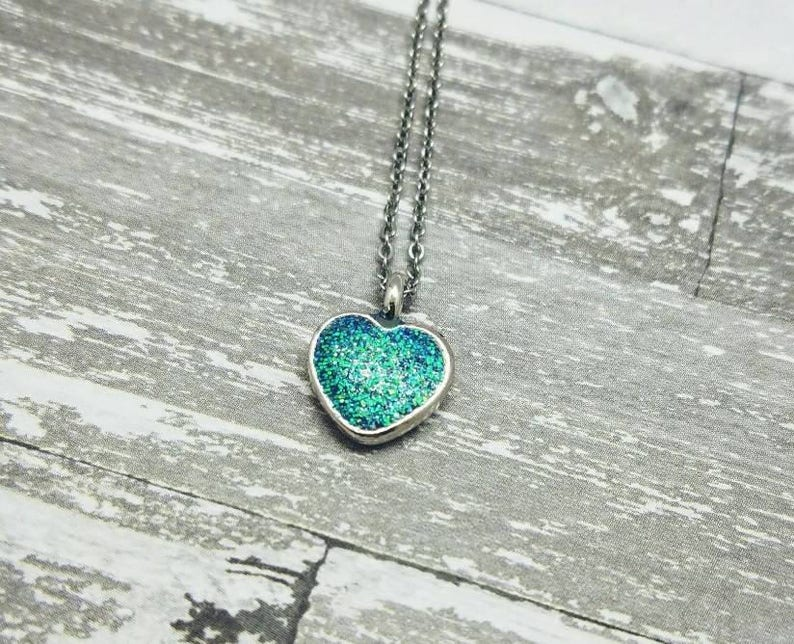 Birthstone Heart Cremation Necklace Made with Pet/'s Ashes Cremation Jewelry Ash Necklace Pet Loss Gift Pet Keepsake Memorial Necklace Gift