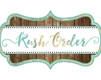 Need your order in a hurry? **Please Read Description Before Purchasing**