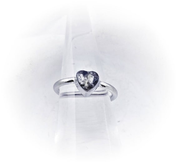 SALE Heart Cremation Ring Made with Ashes Pet Cremation Ring Memorial Gift Pet Loss Gift Urn Ring Birthstone Cremation Jewelry Pet memorial