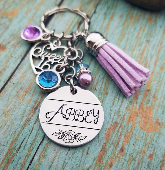 Personalized Sweet 16 Gift 16th Birthday Sixteen