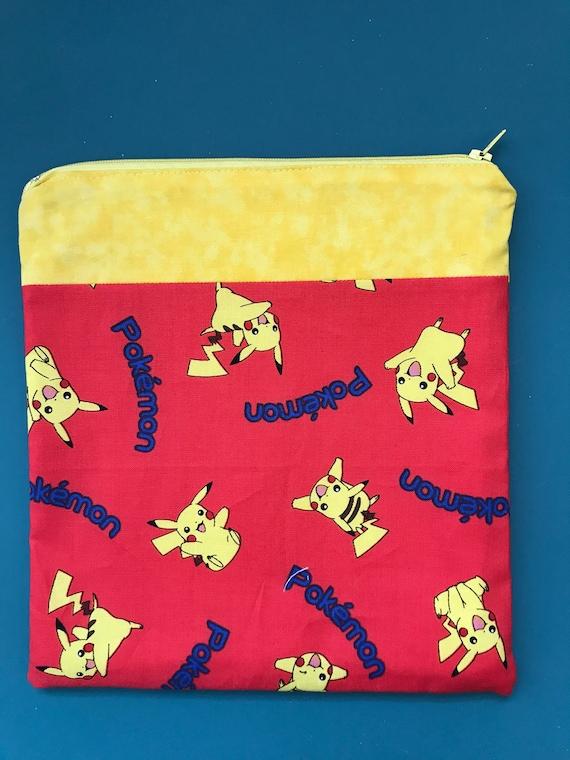 The Pikachu Red Zipper Bag