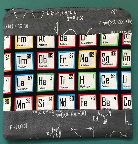 The Science Zipper Bag