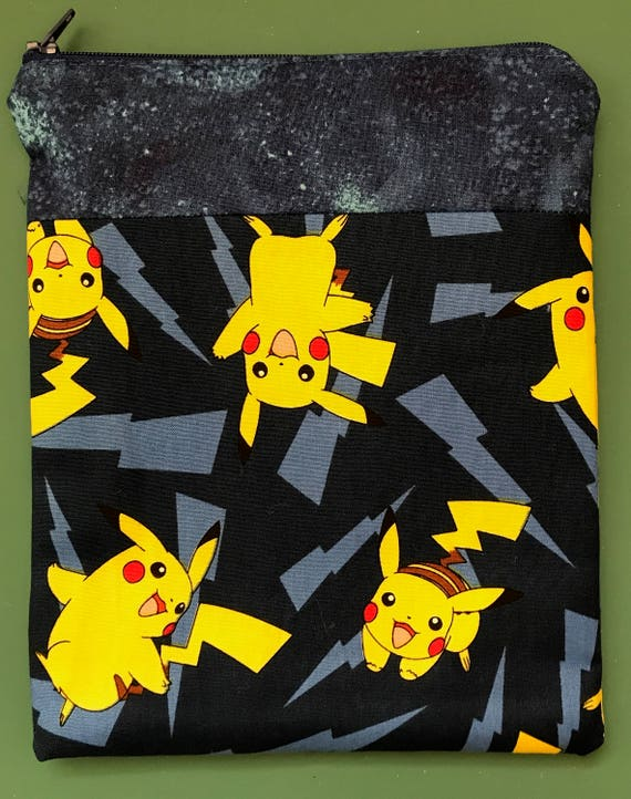 The Pikachu Blue Zipper Bag