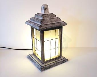 Handmade Grey Lantern