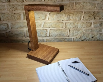 office desk lamp, lamp, wood lamp, modern gift, housewarming gift, promotion gift, desk lamp, contemporary lighting, bedside lamp