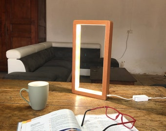 Open Rectangle Led Table Lamp