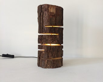 Custom sized Led log lamp