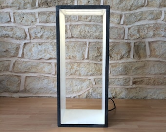 Contemporary 'Open' Table Lamp with Leds