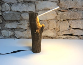 Led Log Reading Lamp