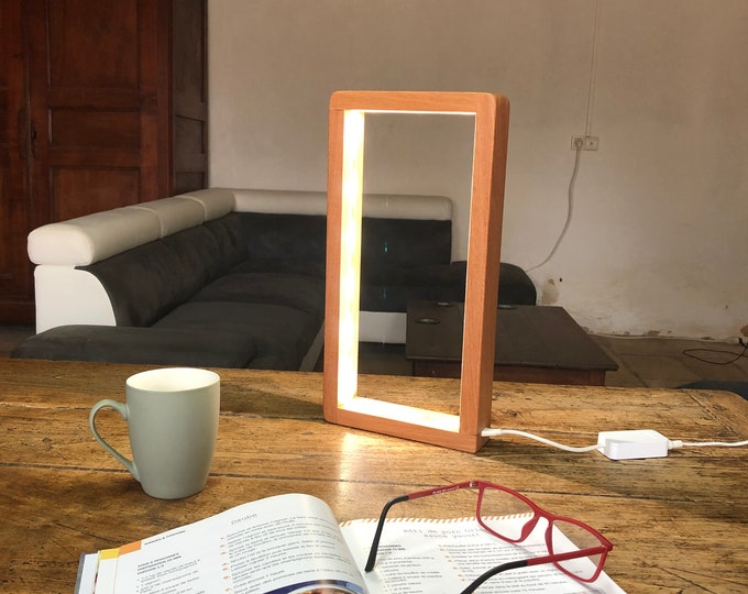 Featured listing image: Open Rectangle Led Table Lamp