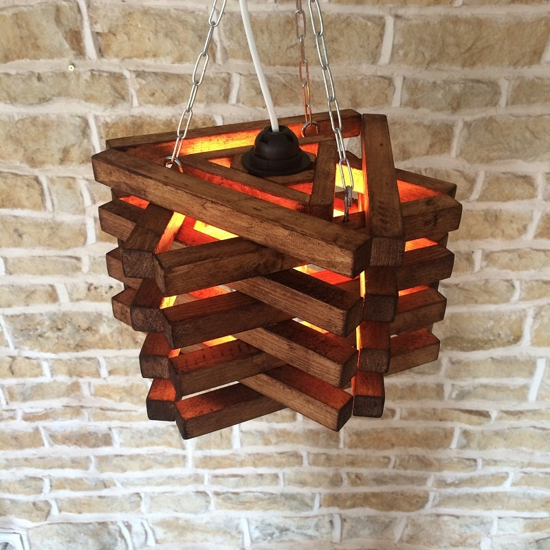 Rustic Ceiling Light Rustic Light Fixture Rustic Wood: Rustic Ceiling Light, Rustic Light Fixture, Rustic Wood