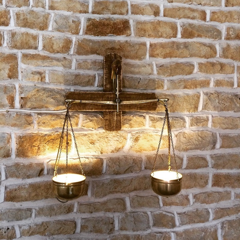 Rustic Wall Light, Vintage Wall Light, Rustic Light