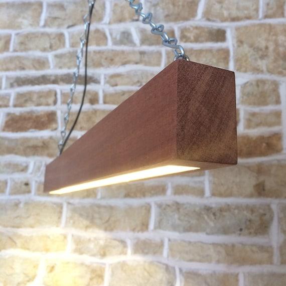 wooden beam light, wooden light fixture, beam light, modern light, table lighting, light pendant, contemporary lighting, led light