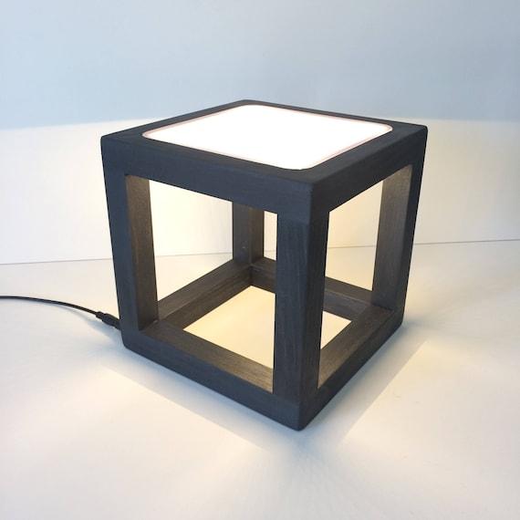 Led Light Cube Table Lamp Desk Lamp Home Office Light Modern Lighting Contemporary Minimalist Lamp Open Design