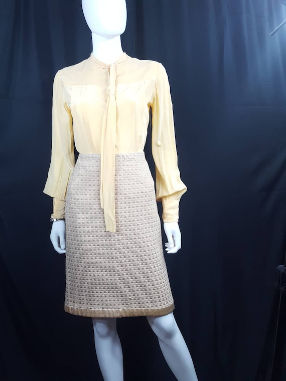 Womens Vintage Silk Blouses Scali Made in France … - image 7