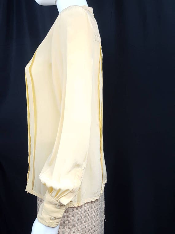 Womens Vintage Silk Blouses Scali Made in France … - image 4