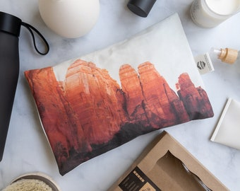 Microwavable Hot Cold Pad. Therapy Pad. Great recovery gift. Safe, reusable and washable relaxing aromatherapy pad. Sedona AZ 0784