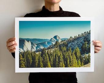 Yosemite Half Dome, California Art Print