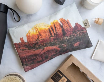 Microwavable Hot Cold Pad. Therapy Pad. Great recovery gift. Safe, reusable and washable relaxing aromatherapy pad. Sedona AZ 0898