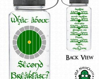 Second Breakfast Water Bottle